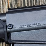 Remington 870 DM Magpul Shotgun closeup