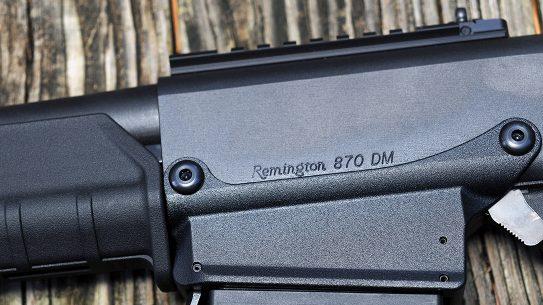 Remington 870 DM Magpul Shotgun closeup