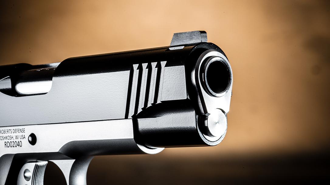 Roberts Defense SuperGrade 2-Tone pistol muzzle