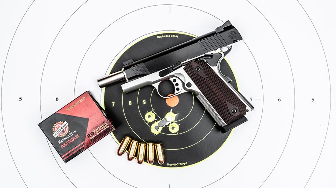 Roberts Defense SuperGrade 2-Tone pistol target