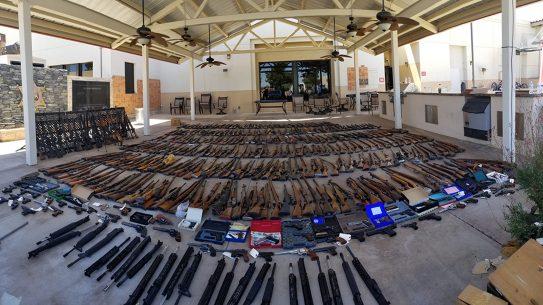 la sheriff guns seized