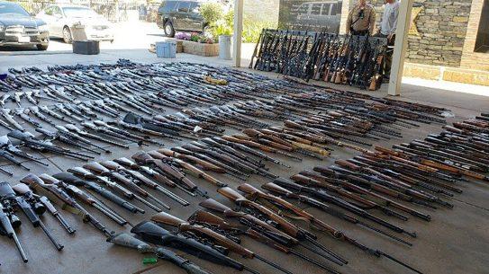 la sheriff guns rifles
