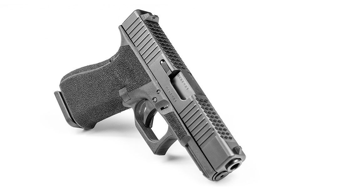 ATEi A9 Glock 19 pistol front angle