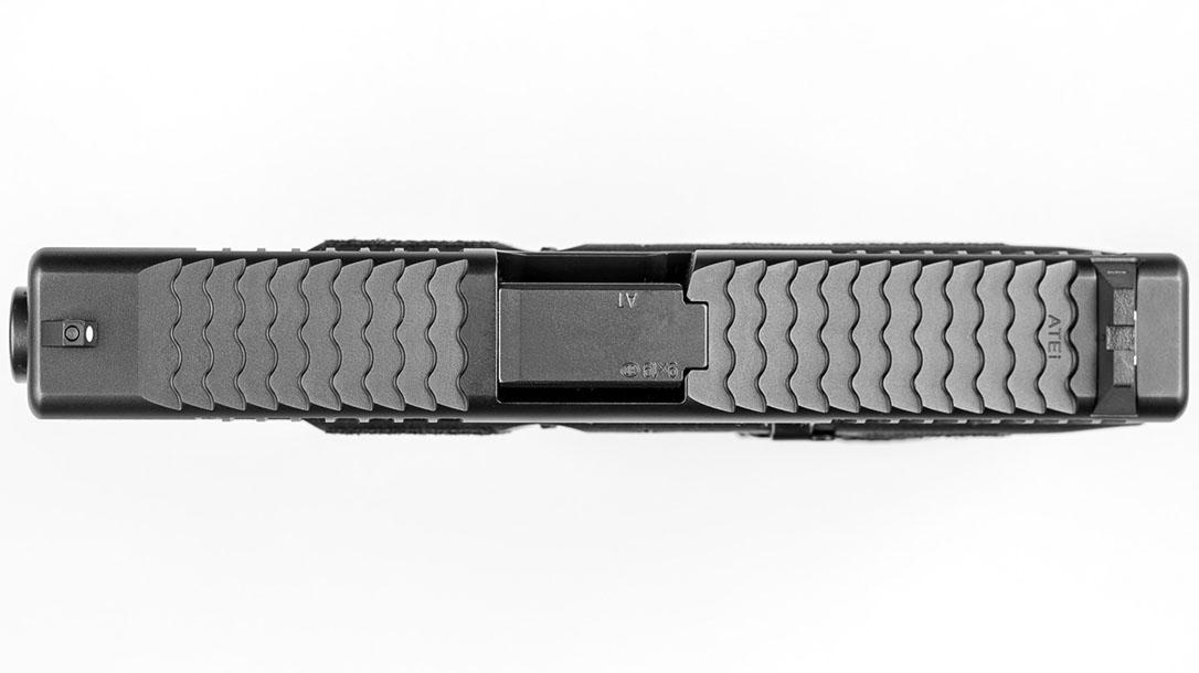 ATEi A9 Glock 19 pistol top view