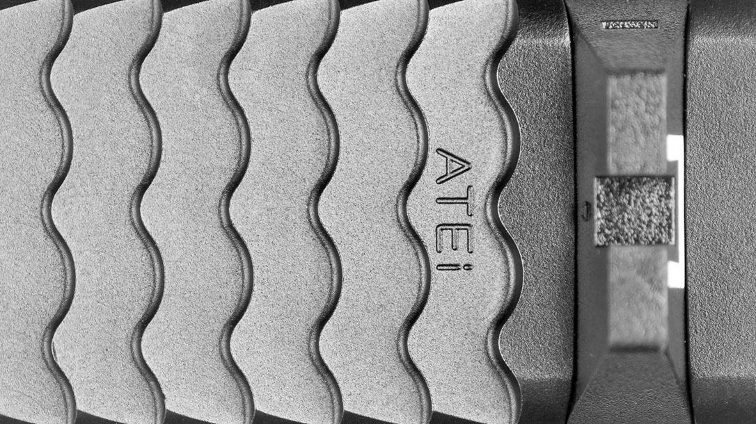 ATEi A9 Glock 19 pistol serrations