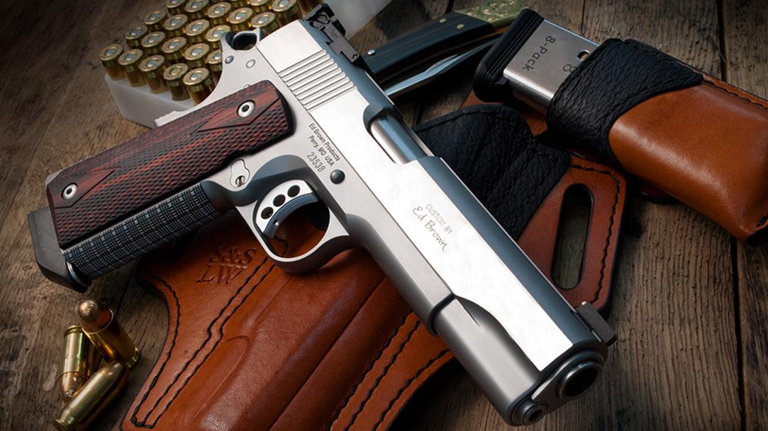 Ed Brown Classic Custom 1911 pistol beauty
