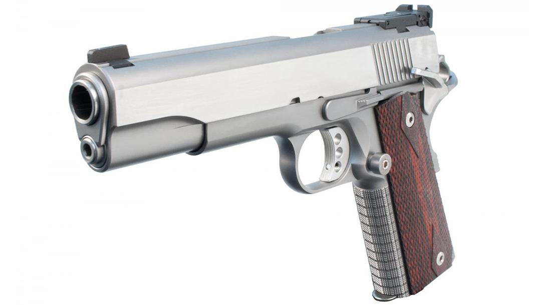 Ed Brown Classic Custom 1911 pistol left angle