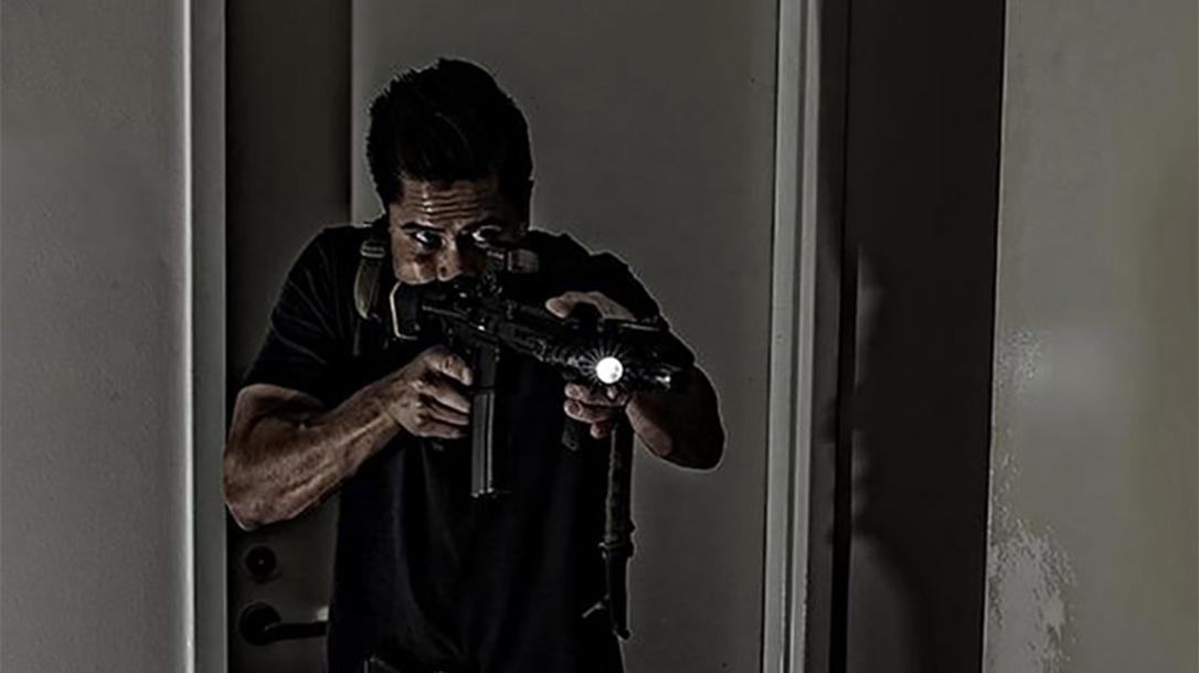 hawaii ar-15 rifle dark hallway