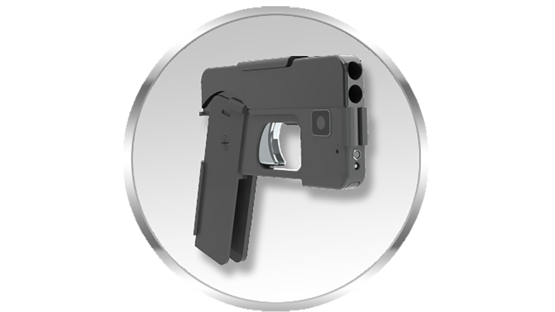 Ideal Conceal pistol unfolded