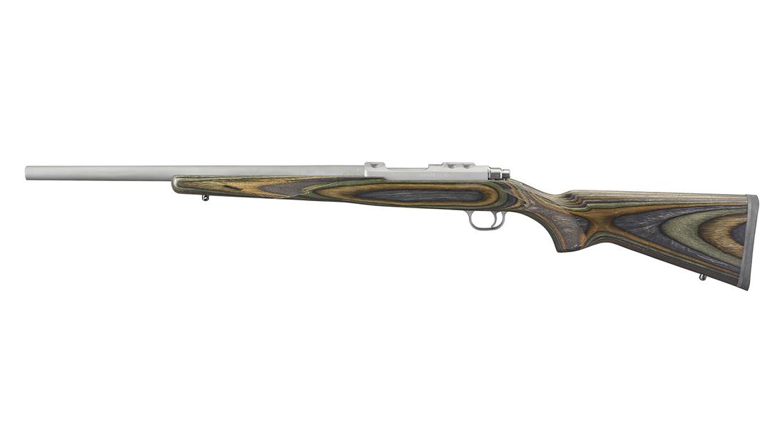 Ruger 77/17 rifle left profile