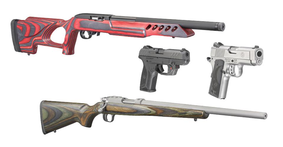 ruger sr1911 security-9 10/22 77/17 pistols rifles