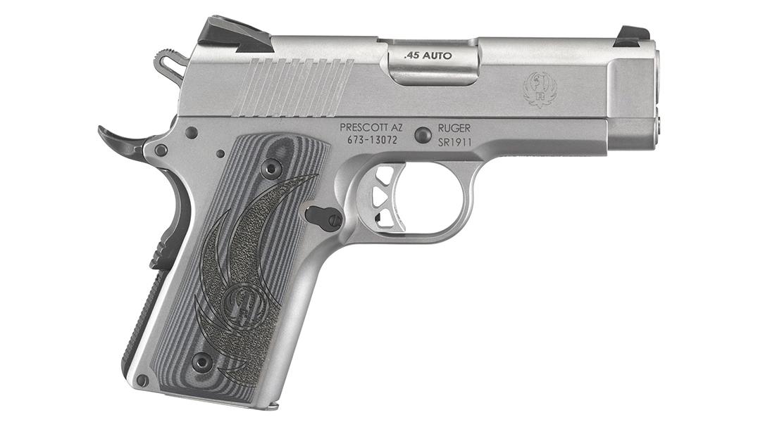 Ruger SR1911 officer pistol right profile