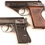 walther ppk mauser hsc pistols top bottom