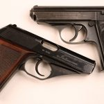 walther ppk mauser hsc pistols side by side