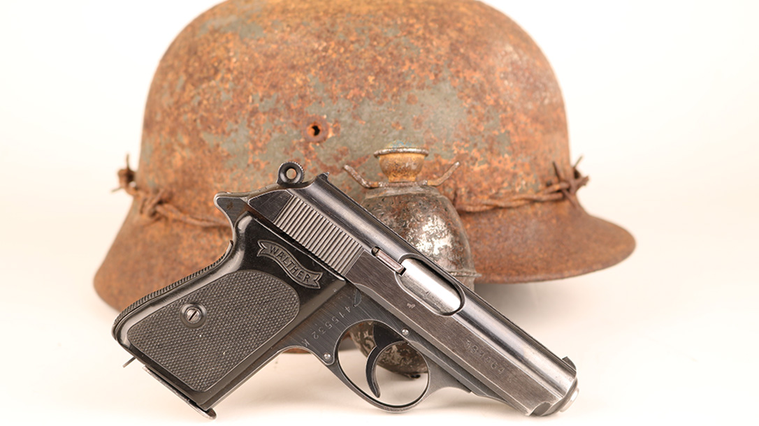 walther ppk pistol right profile