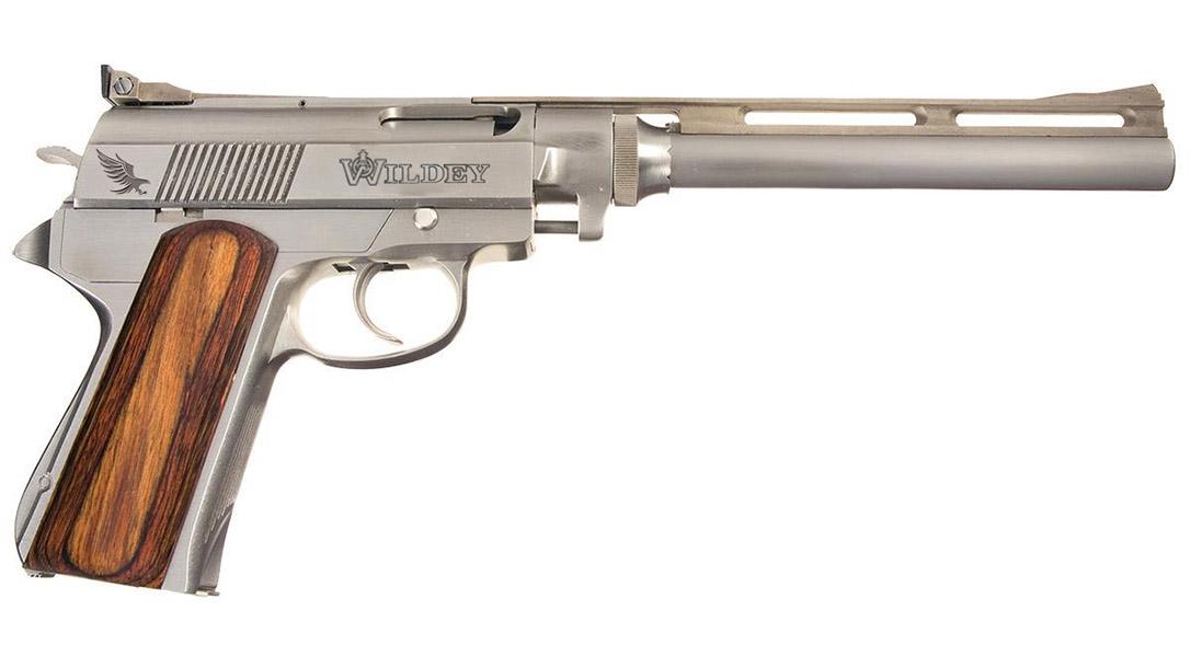 Wildey Survivor pistol pistol right profile