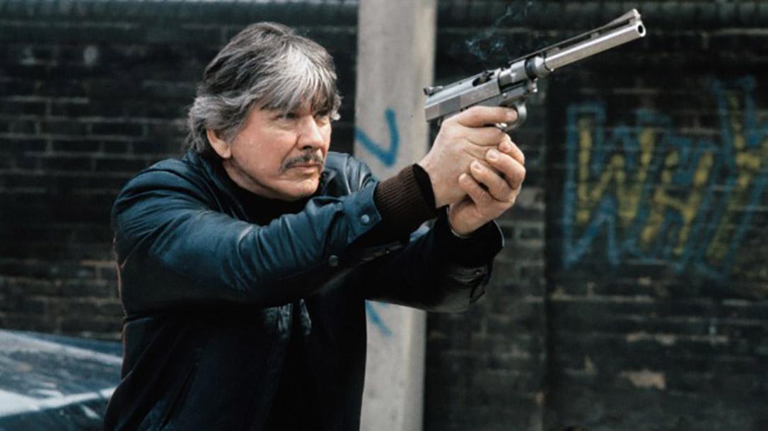 Wildey Survivor pistol pistol charles bronson