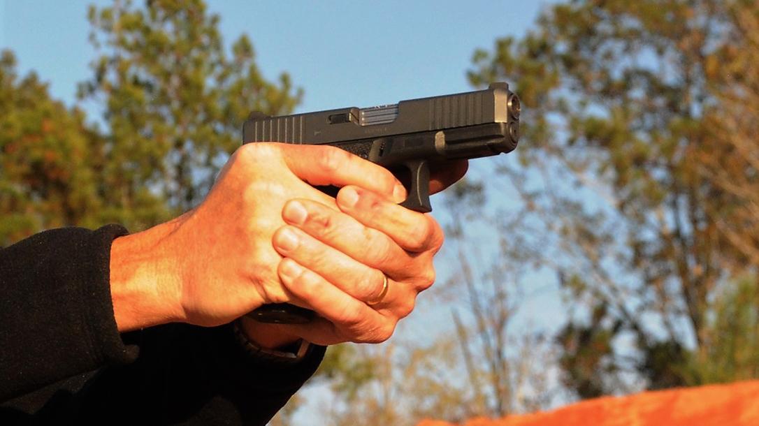 Wilson Combat Glock 19 Gen4 pistol closeup
