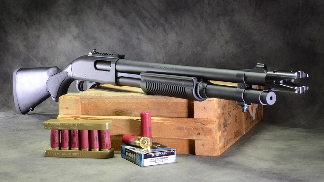 Home Defense Shotgun choke, remington 870 express tactical shotgun right angle