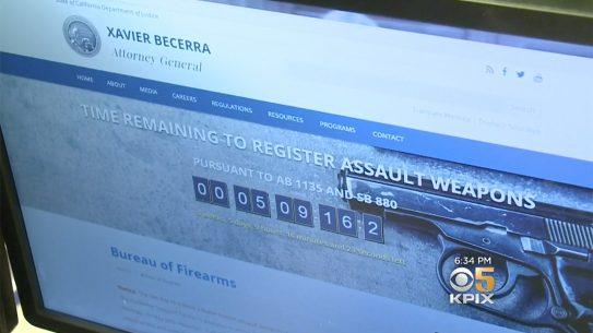 california bullet button rifle doj website