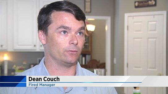 dean crouch academy sports fired manager
