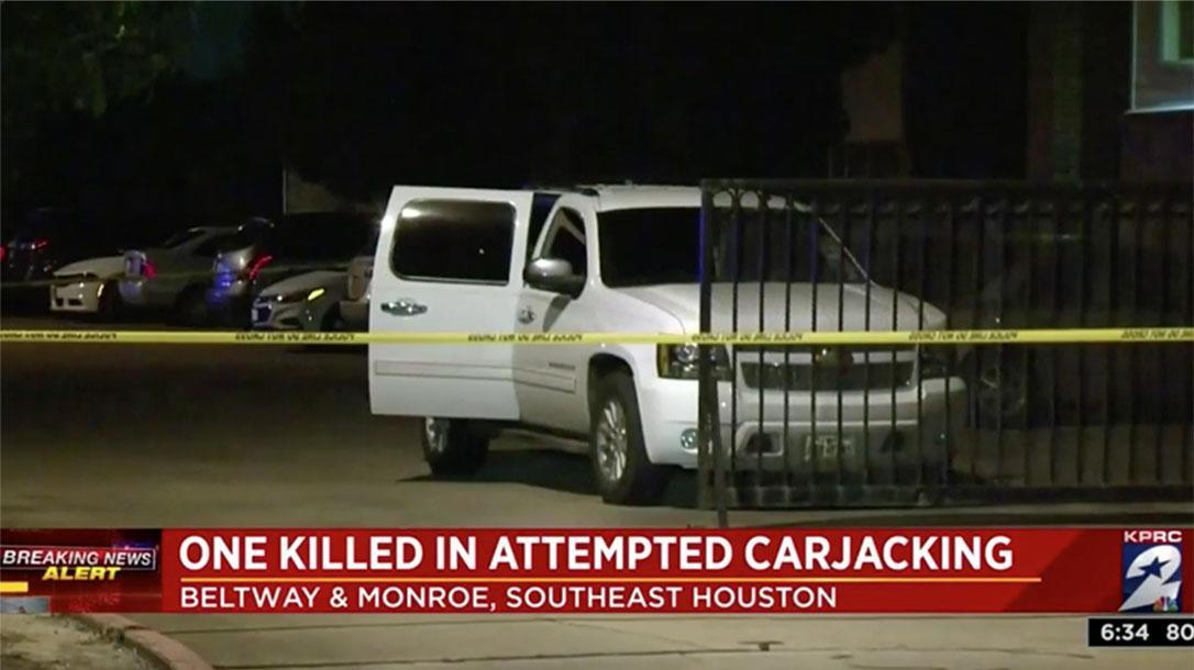 houston carjacker shooting