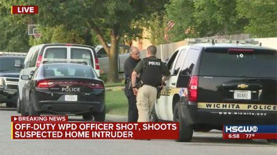 wichita police home invasion shooting