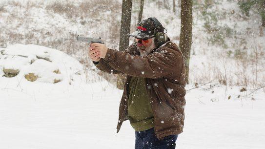1911 trigger shooting