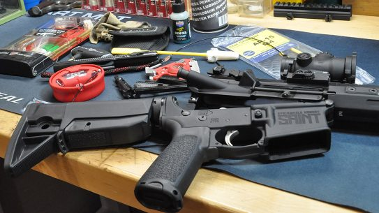 AR-15 Cleaning, Rifle Cleaning, Rifle Running