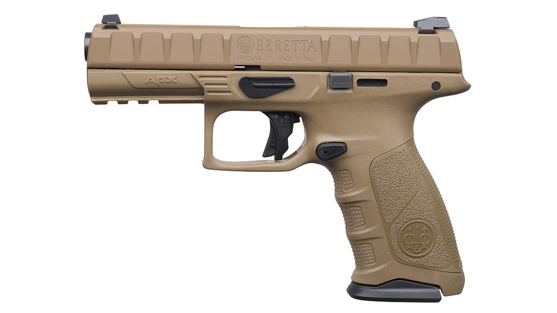 full size handguns, Beretta APX FDE