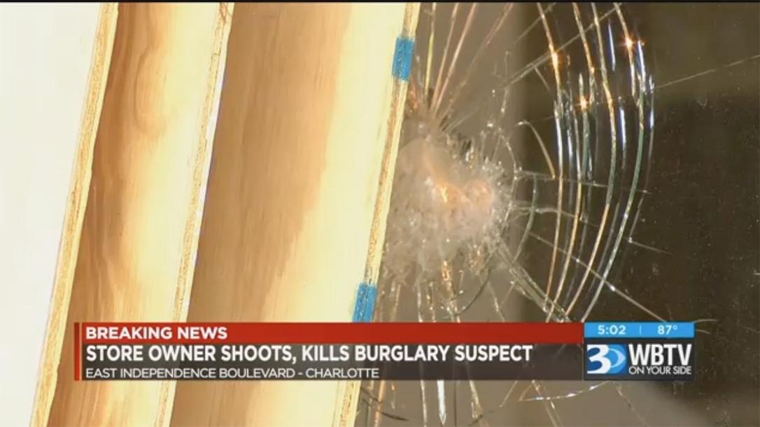 charlotte store owner shooting doorway