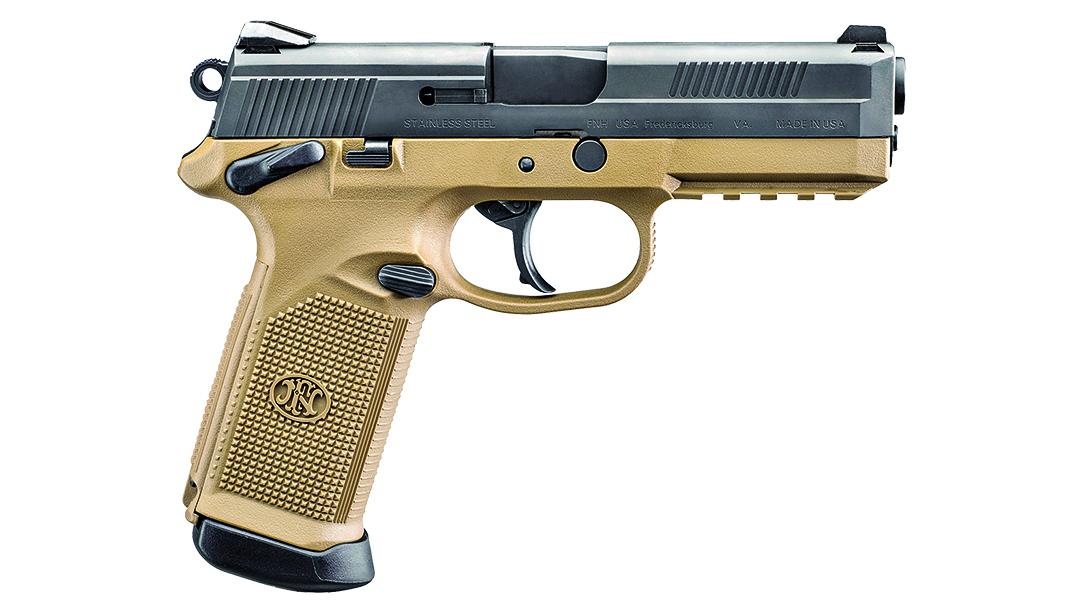 full size handguns, FN FNX-45-FDE/BK