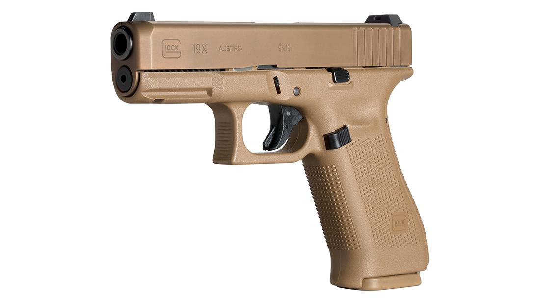 full size handguns, Glock G19X