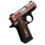 new female shooters kimber rose gold 1911