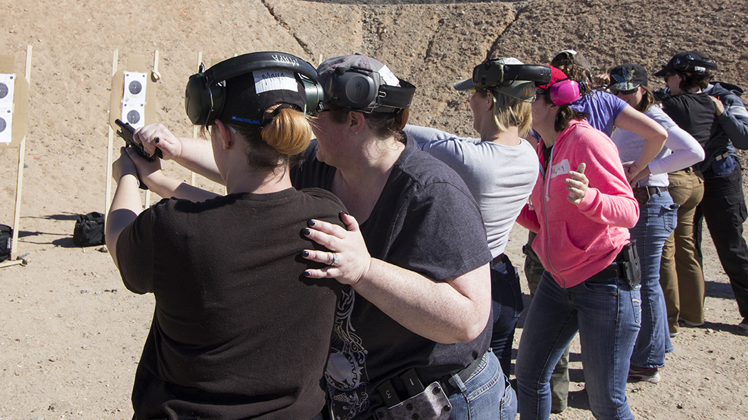 new female shooters training