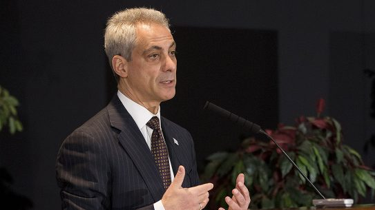 Chicago Mayor Rahm Emanuel Pushes Gun Control