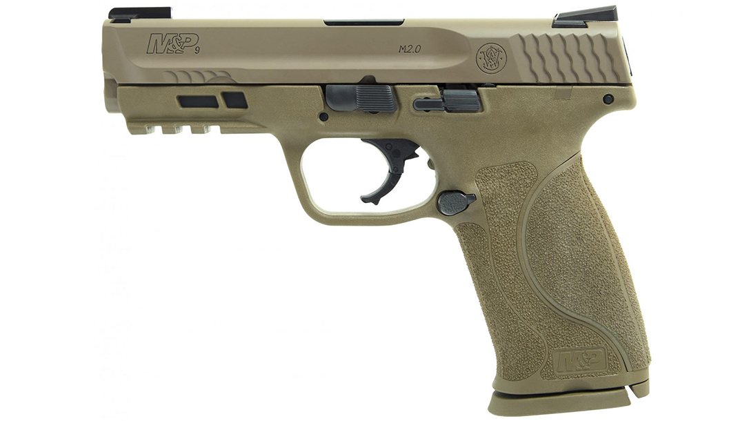 full size handguns, Smith & Wesson M&P M2.0 TruGlo TFX Sights