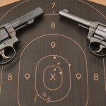 Smith & Wesson Model 10, Colt Police Positive, revolvers