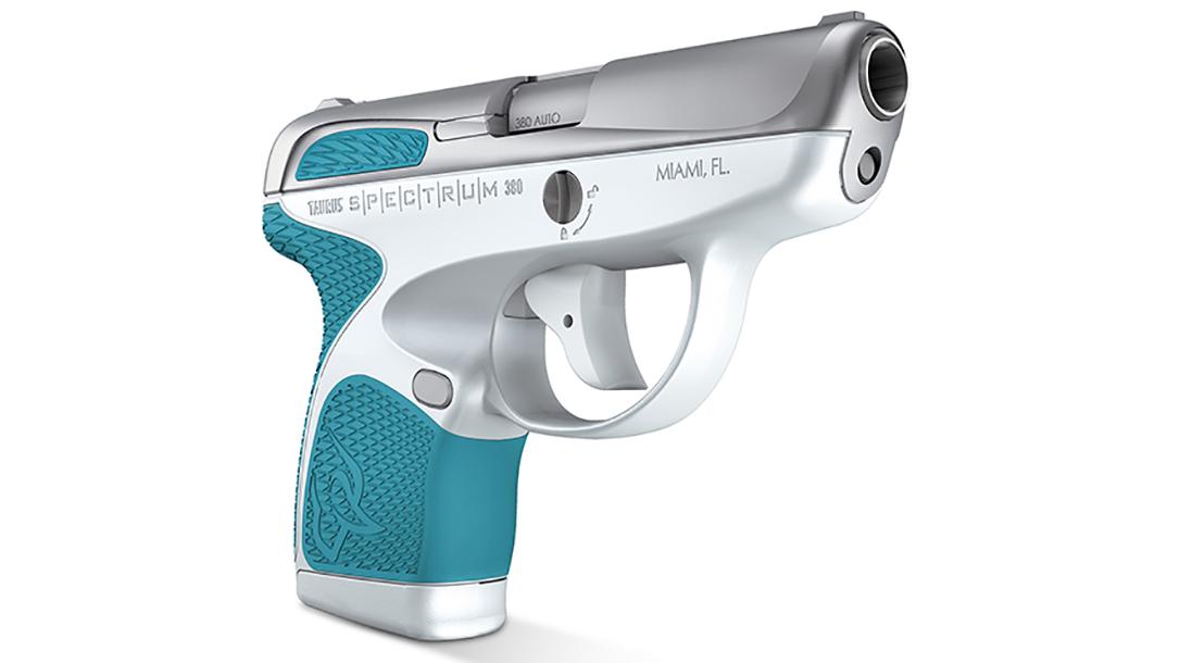 taurus spectrum pistol white stainless