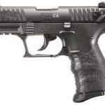 Walther P22 FDE semi-auto pistol left side