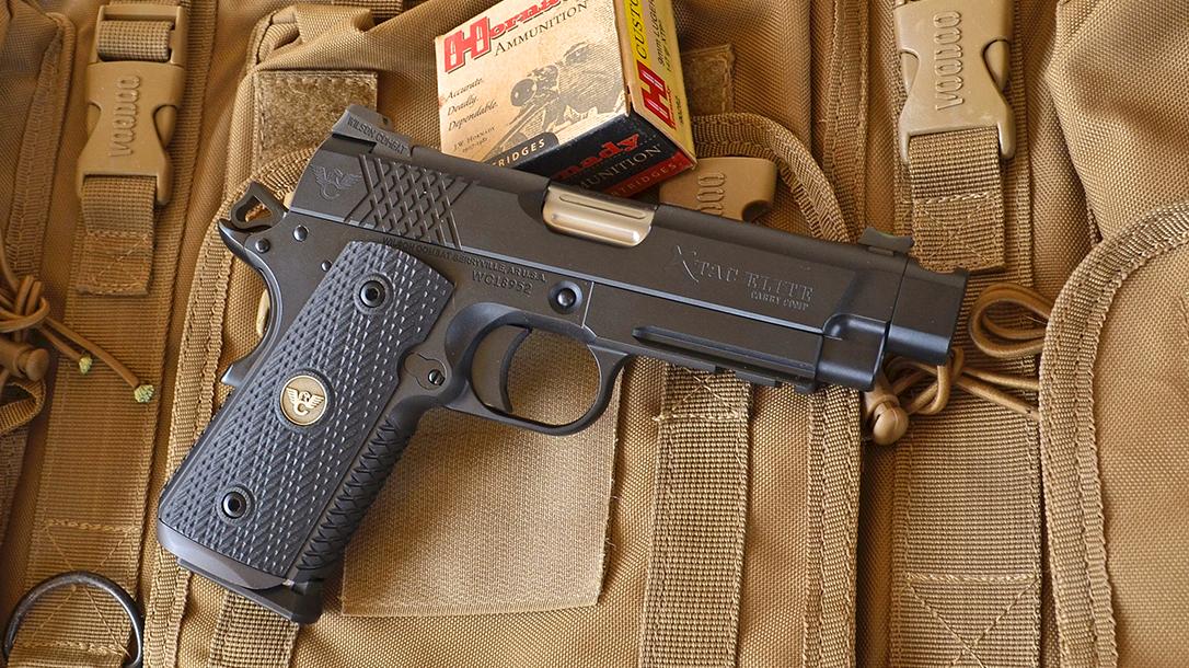 Wilson Combat X-TAC Elite Carry Comp 9mm pistol ammo