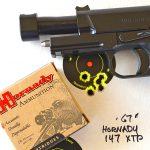 Wilson Combat X-TAC Elite Carry Comp 9mm pistol target