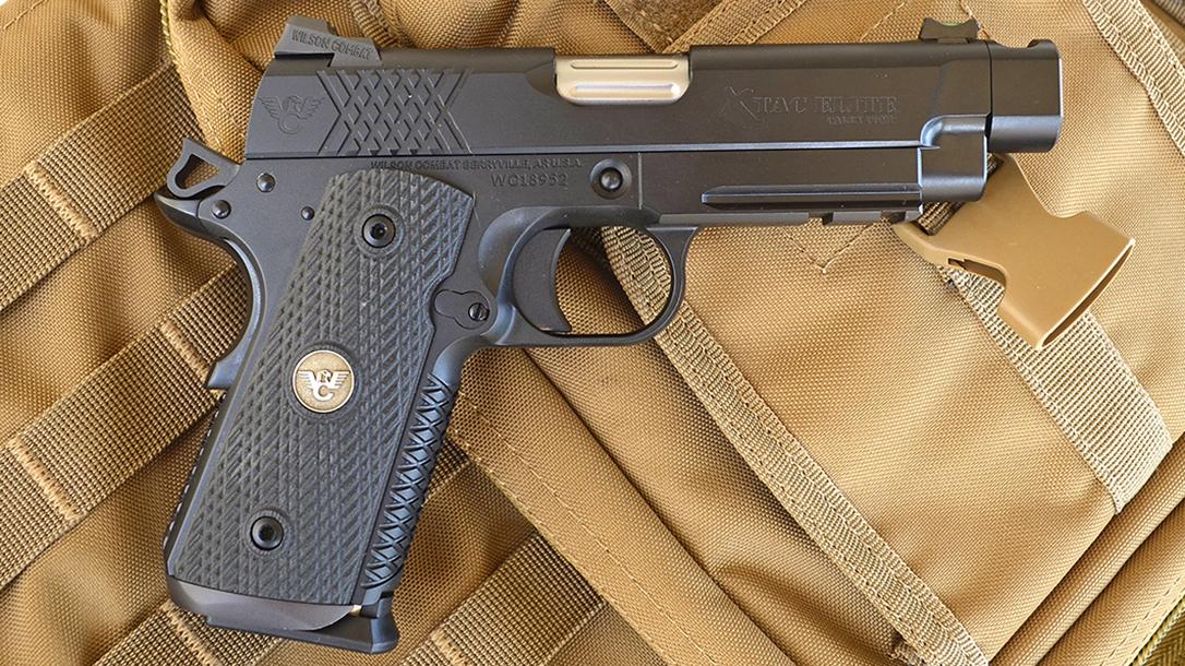 Wilson Combat X-TAC Elite Carry Comp 9mm pistol right profile