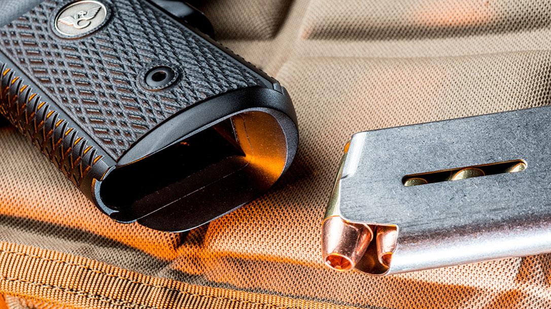 Wilson Combat X-TAC Elite Carry Comp 9mm pistol mainspring housing