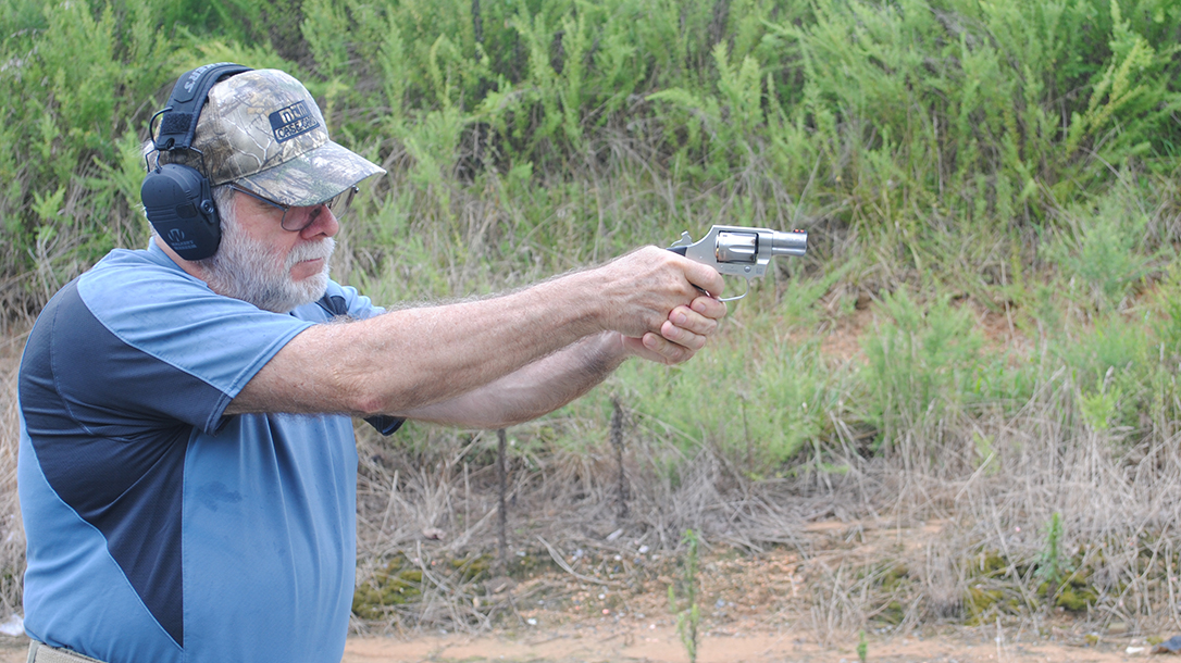 Colt Cobra Revolver, Range Test, Gun Review, aim