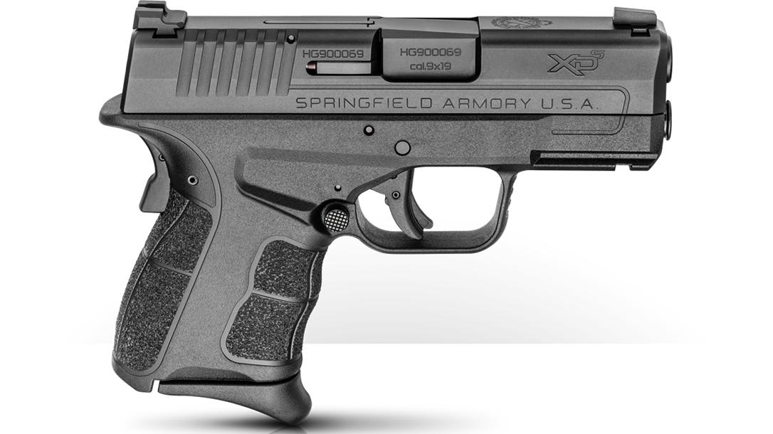 springfield xd-s mod.2 9mm pistol right profile