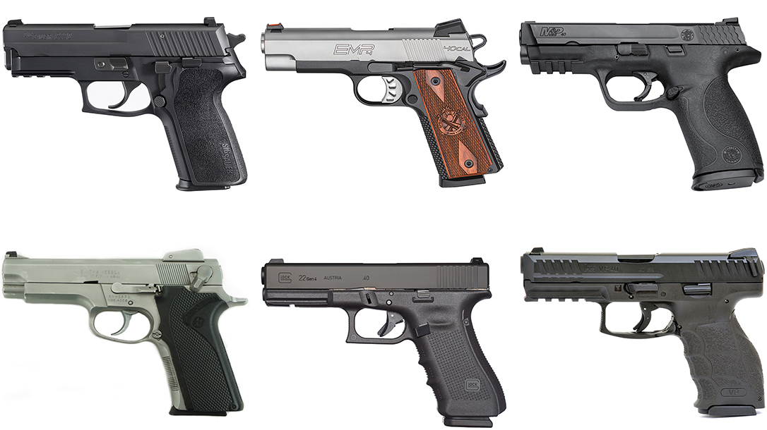 .40 S&W Pistols, 40 S&W Handguns
