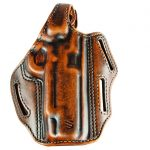 Handgun holsters, BlackHawk Leather 3-Slot Pancake