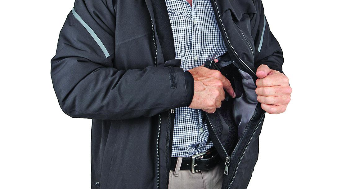 Handgun holsters, UnderTech UnderCover Caliber Elite Parka