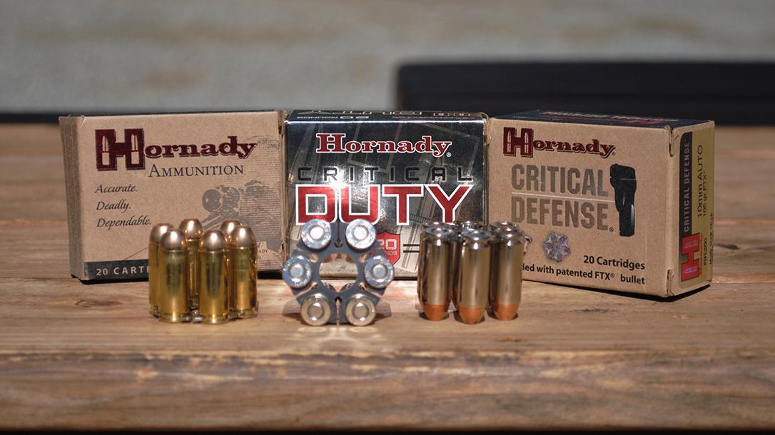 Ruger Super Redhawk 10mm, ammunition